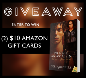 To Mate An Assassin Giveaway Graphic