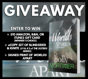 Worlds Apart RB Giveaway Graphic
