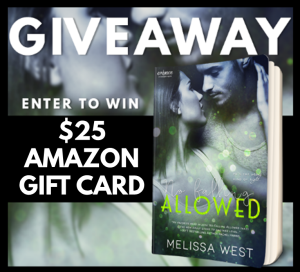 No Falling Allowed Giveaway Graphic